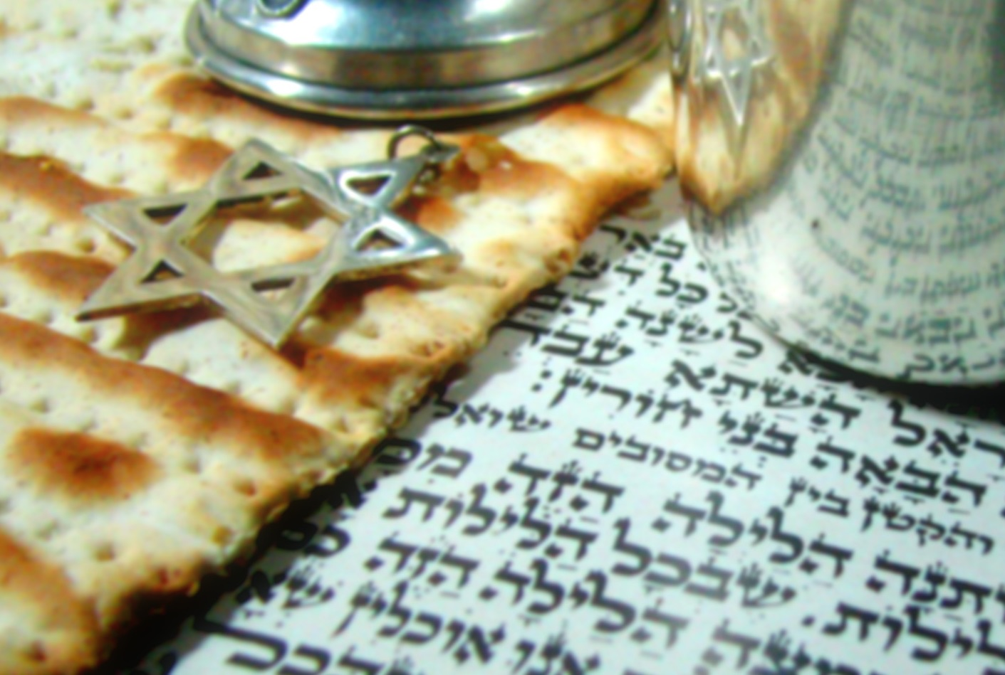 Matzah and silver