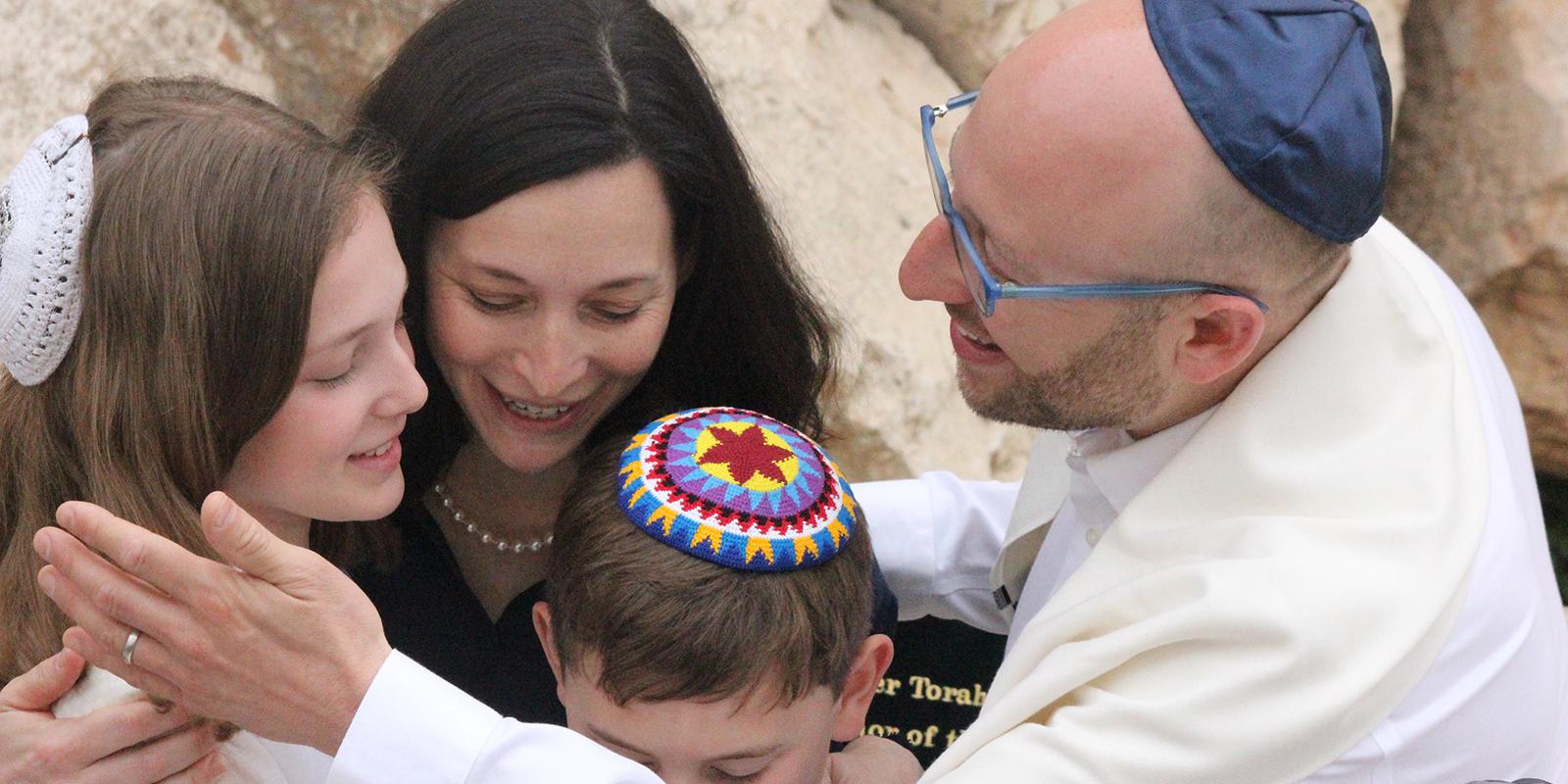 bnei mitzvah family