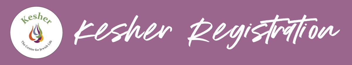 Kesher Registration